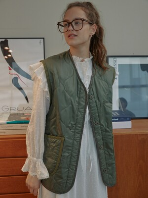 Quilted Camping Vest