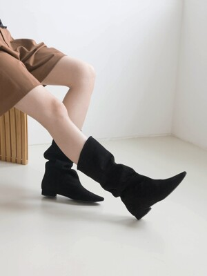 Wrinkle boots_kw1758_2cm