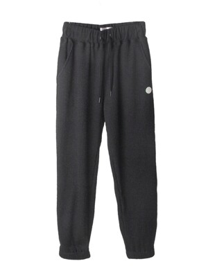 DAMP HOTEL CORDUROY SWEAT SET PANTS_GRAY
