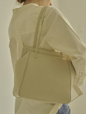 COURBE BAG IVORY