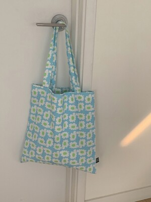 bloom sky blue bag