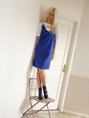 CHAIN DRESS(BLUE)