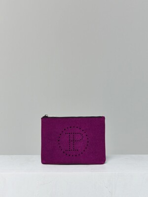 LUNCH CLUTCH_violet