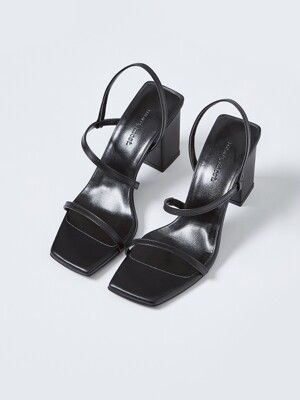 Slim Line Sandal_MM063_BK