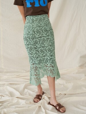 SENTIMENTAL SKIRT MINT