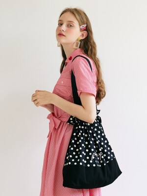 Dot Eco Bag _ Black