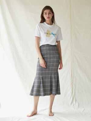 Rosh Check Skirt_Black