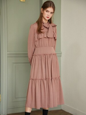 Lovely Petal Dress_Rosy Pink