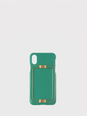 IPHONE X/XS CASE LINEY GREEN