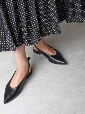 point toe flat_black