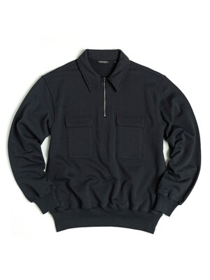 SCOUT PULLOVER SWEAT / NAVY