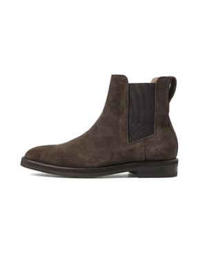 AMERICAN COW SUEDE CHELSEA BOOTS