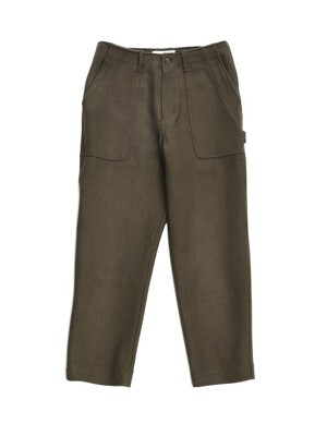 18FW STANDARD WOOL FATIGUE PANTS OLIVE