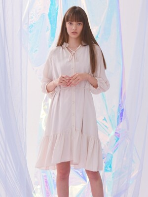 Faint Dress - Beige