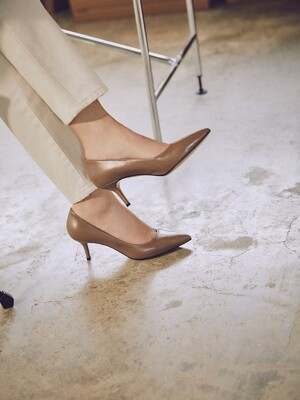 CLASSIC LEATHER PUMPS_TAUPE