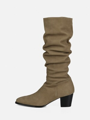 WAVE BOOTS - BEIGE