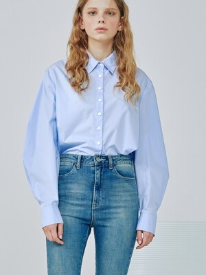 Kelly blouse [Crystal blue]