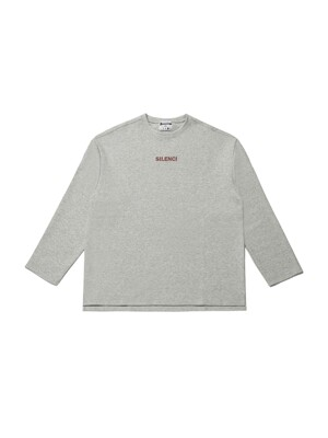SILENCI LONG SLEEVE(GREY)