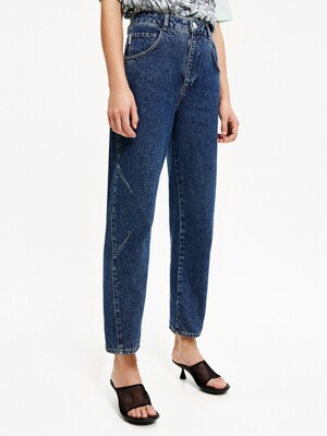 Blue straight jeans_B205AWN001BL