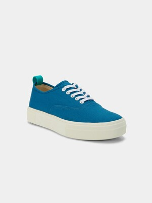 CANVAS LOW BLUE SNEAKERS