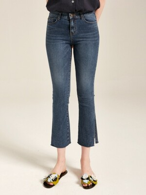 SLIT WASHING DENIM JEAN_DENIM