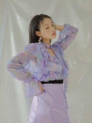 Amaryllis Blouse [Light purple]
