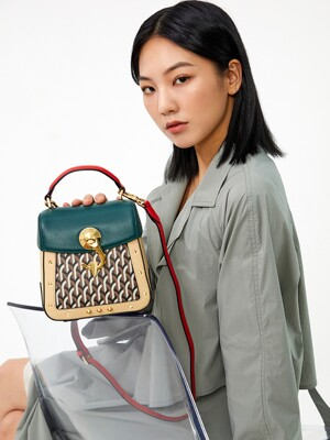 트렁키노 백 TRUNKINO BAG small_multi green