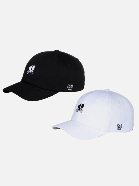 [1+1]ET BALLCAP - BLACK or WHITE