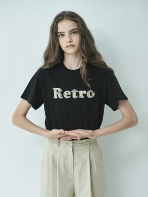 Retro Printed T-shirt