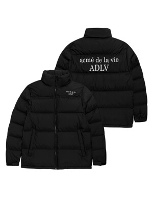 ADLV OVERSIZED SHORT DUCK DOWN BLACK
