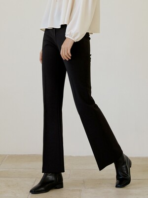 [EXCLUSIVE] Slim semi bootscut Slacks