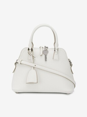 [WOMEN] 21SS 5AC GRAINED LEATHER BAG WHITE SMALL(MINI) S56WG0082 P0396 H7736