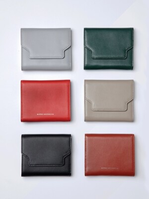 VAVA HALF WALLET_6colors