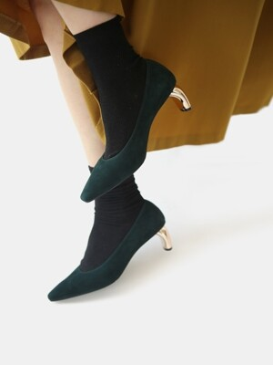 snr1801 Anna suede - dark green