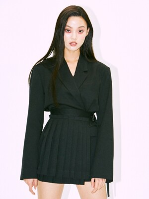 OVERSIZE TAILORED JACKET black