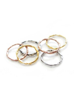 wave ring set - 3colors