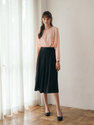 Dree Pleats Skirt (3color)