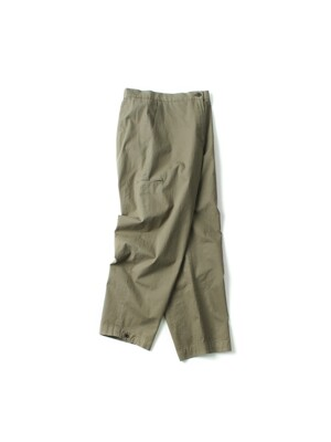 side pocket cotton pants