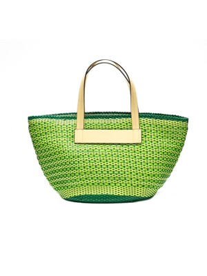 tashiana No.13 mesh beach bag L_green