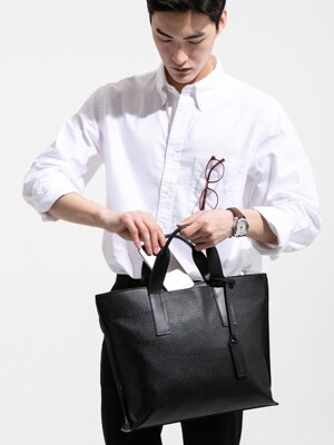 work tote [black]