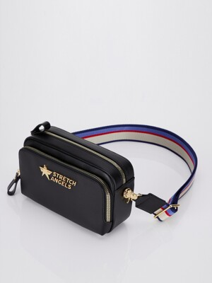 Stella PANINI bag (Black/gold)