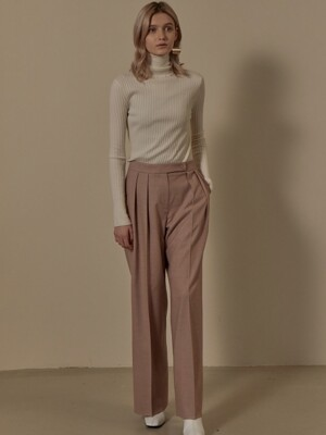 Tuck Wide Long Pants SW9WP013-91