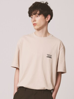 DV SIGN LOGO TEE(IVORY)