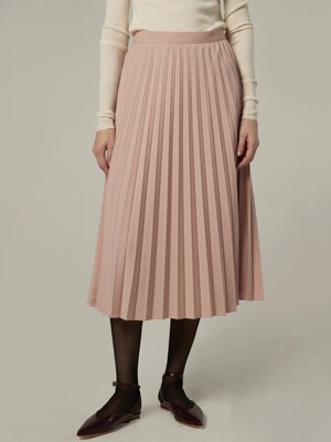 [EXCLUSIVE] Bemuse pleats skirt - Indi pink