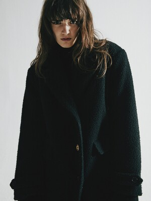 ORDINARY BLACK CASENTINO DOUBLE COAT