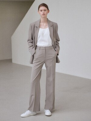 21SN semi-wide pants [GY]