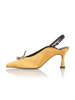 Lune classic sling-backs / 19RS-S371 Mustard