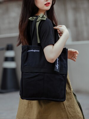 AH CHOO SHOULDER BAG (BLACK)
