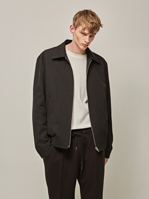 OVER CROP LINE BLOUSON_BLACK