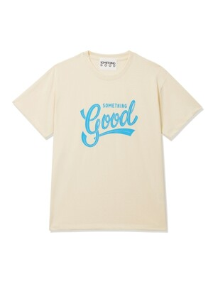 Irvan X SOMETHINGGOOD T-Shirts Ivory